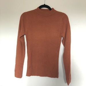 NWOT Nasty Gal Mock Neck Sweater